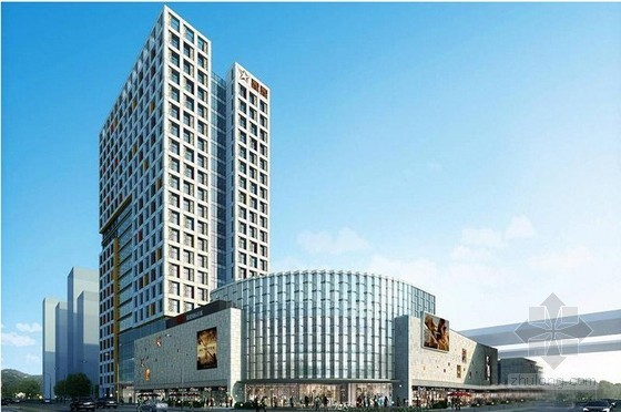 商业综合体目标成本测算实例(白金五星酒店 公寓)