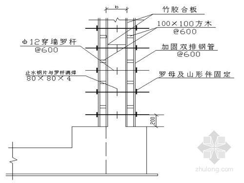 建筑工程安全文明施工方案(模板、脚手架、塔吊及临电等)