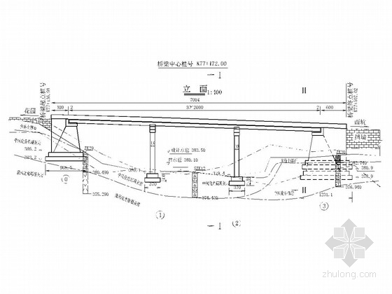 20m跨径预应力空心板桥下部构造施工图(12张)