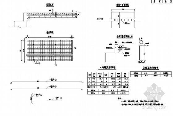 3×16m预应力简支空心板成套cad设计图纸