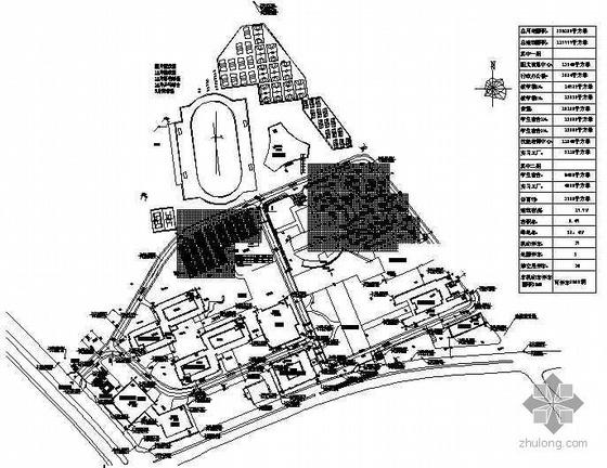 [江苏]某职教中心环境景观设计施工图