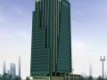 某超高层办公楼设计方案文本(含CAD和模型)