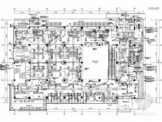 [湖北]多层娱乐建筑空调通风及防排烟系统设计施工图