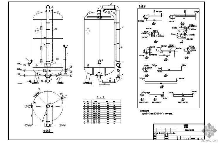 某一级反渗透全自动混床结构图及配管图