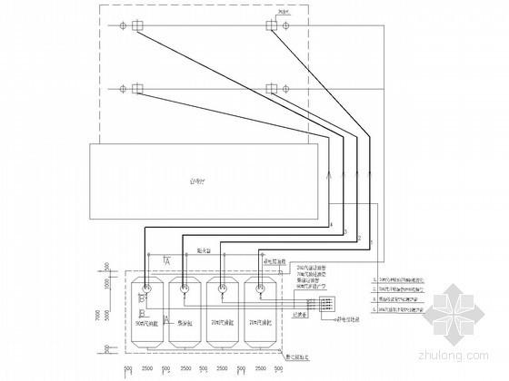 某加油站工艺管线设计图纸