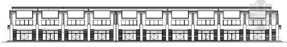 山东香港五金家居城B4块改造工程建筑施工图