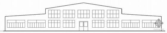南平市某纺织厂单层厂房建筑结构施工图