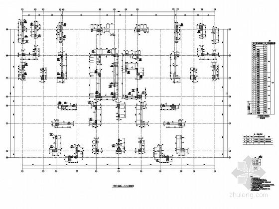[四川]27层剪力墙结构办公楼地上部分结构施工图