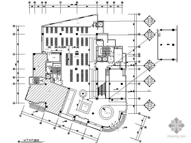 [重庆]某办公楼装饰施工图(医药公司部分)
