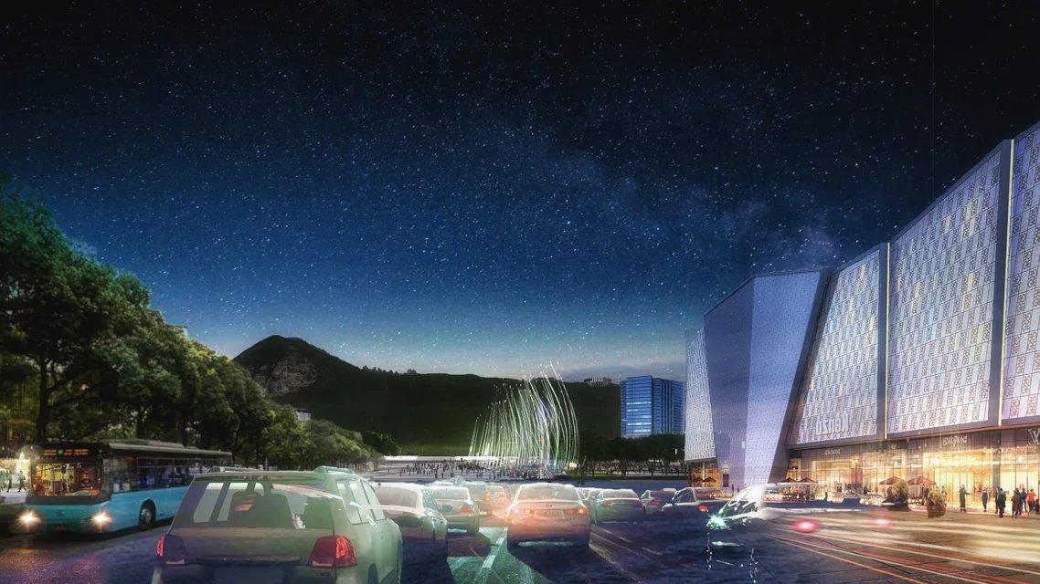 竞赛的作品与我国政府公布的城市发展新导则相契合,侧重于强调生态可持续性发展,包括海 绵城市理念;并挖掘当地特色,采取因地制宜的都市发展思路。狮山公园将会是中国实现这些 想法的第一个大规模的公共项目。狮山湖预计扩大两倍,通过创造可持续性的雨水处理地带,收集那些过去增加了城市排洪压力的雨水,并予以生态净化,将会使得湖水水质从 3 级水变成清澈的 1 级水。环道串联公园美景,创造着新的都市共享场所,正如西湖十景完美的融入到人们生活。 公园将会以欣欣向荣的自然面貌与狮山威风凛凛之势,呈现出独特的高价值都市场所。