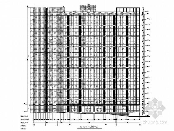 [120及140系列]18层办公楼玻璃幕墙方案图(含幕墙计算书、热工计算书)