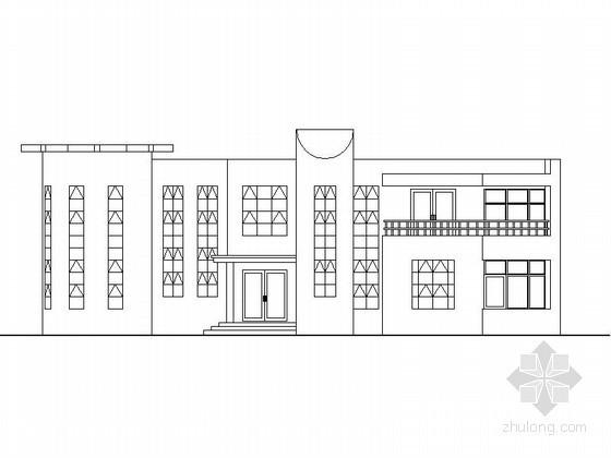 两套三层豪华别墅建筑扩初图
