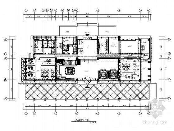 [江苏]工业园区中外合资企业办公楼室内设计施工图