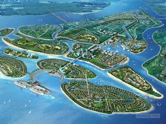 [海南]大型滨海城市新区规划设计方案文本(知名建筑事务所)