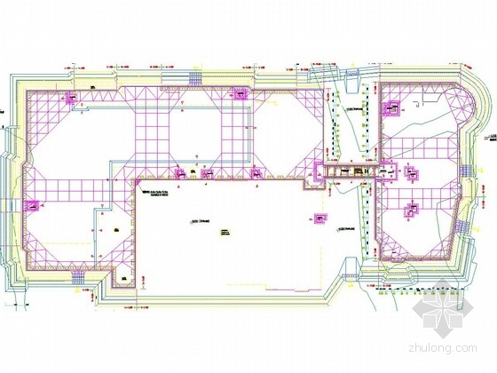 [浙江]10米深基坑复合土钉墙加桩撑支护施工图