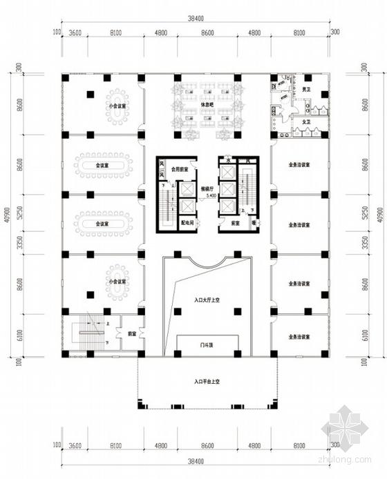 办公区平面图