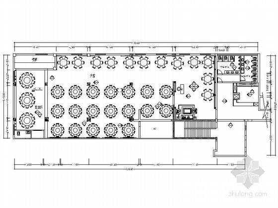 新中式现代风格酒店宴会厅装修设计图(含效果)
