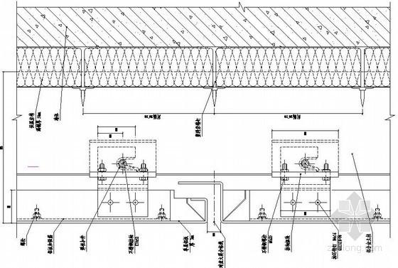 铝板幕墙标准竖剖节点图