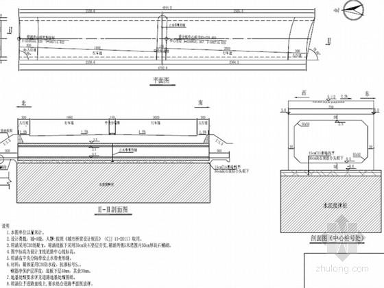 [浙江]城市主干路箱涵工程施工图设计9张