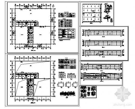 某单层汽车展厅建筑方案图-4