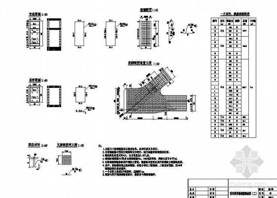 系杆拱桥普通钢筋构造节点详图设计