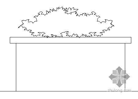圆形花坛做法大样图