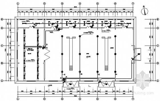 某生产机修车间电气施工图纸-建筑电气施工图-土木资料网