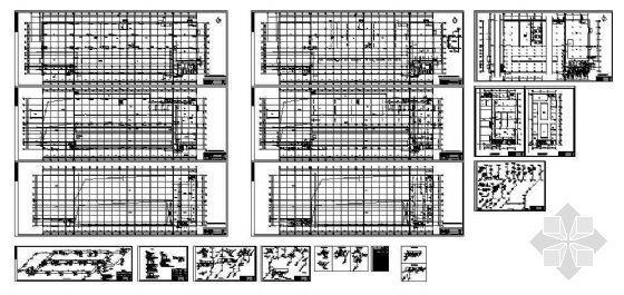 天津某车间全套给水排水设计图纸