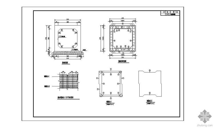 昆明某道路排水工程四通井施工图设计