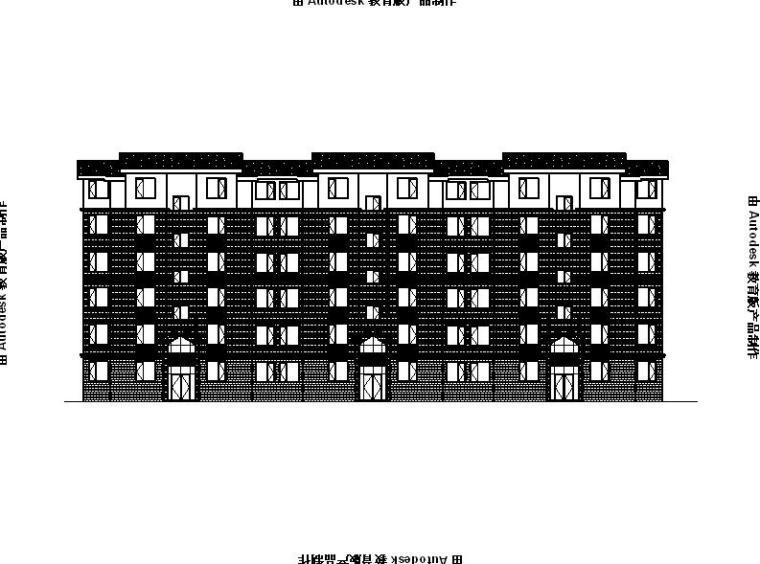 [宁夏]多层砖混结构物流总部基地建筑施工图(全专业施工图)