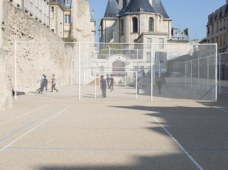 法国露天运动游戏场地