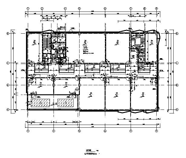 [上海]10个子项目商务办公项目施工图(全专业图纸)_8