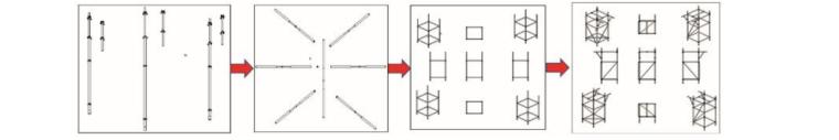 承插型键槽式脚手架在工程应用中的全性分析