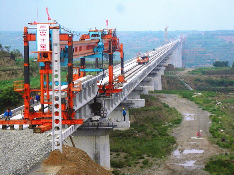 预应力混凝土简支T梁铁路特大桥实施性施工组织设计137页(图表丰富)
