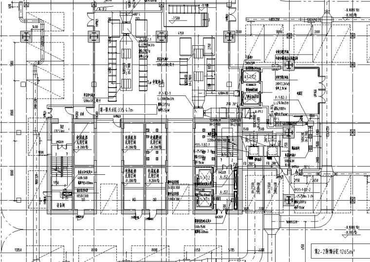 大冲商务中心暖通施工图图纸归档(含通风系统,空调系统,空调水管系统,防排烟系统)