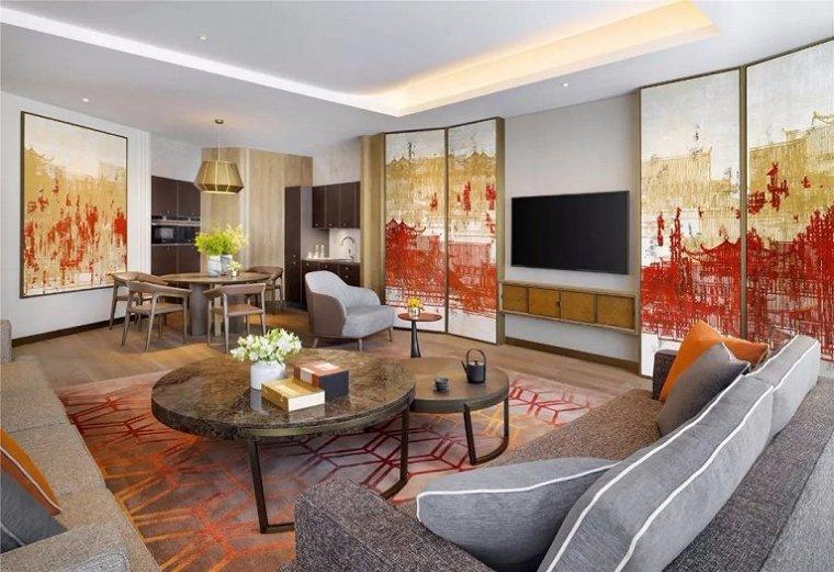 西安雍容盛大的现代君悦酒店室内实景图 (12)