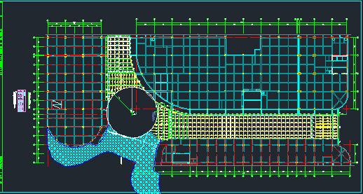时代广场步行街屋顶钢结构施工图_3