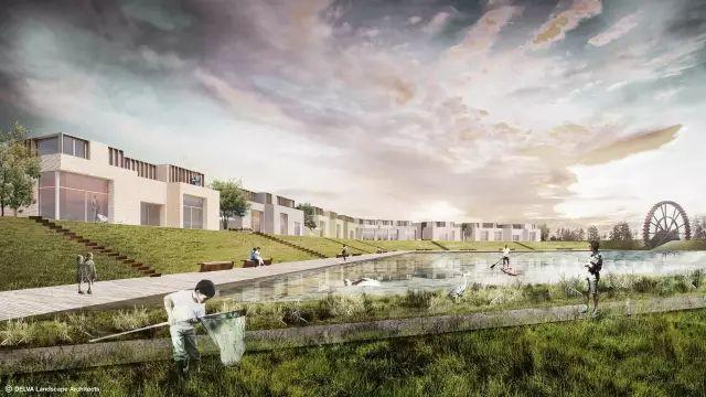 后工业景观设计|Veurne糖厂公园景观规划设计案例分享