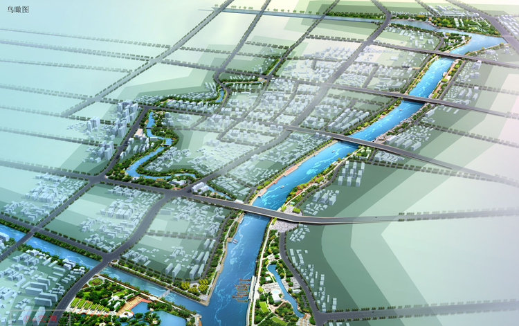 [江苏]南京六合区滁河及护城河景观设计方案文本(生态,人文)