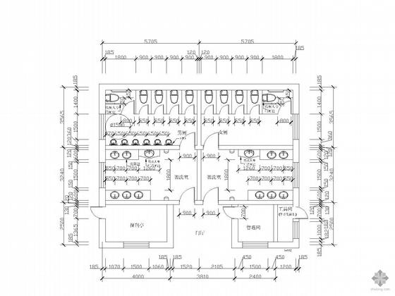 [合集]20套建筑小品——公厕建筑施工图及方案文本_16
