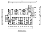【四川】某八层商务宾馆设计CAD施工图