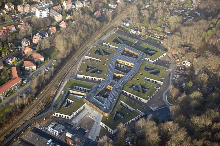 Vejle精神医院资料下载-建筑师的人文主义关怀:丹麦瓦埃勒精神病医院