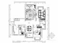 实用型简欧风格两居室室内装修施工图(含效果图)