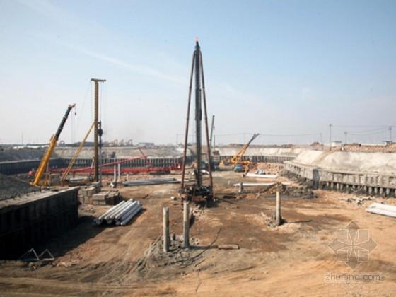 [浙江]办公大楼基坑排桩钢支撑支护土方开挖施工方案