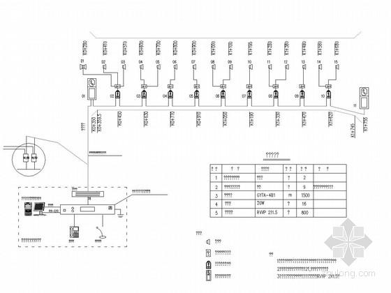 [重庆]隧道监控工程设计图纸60张(监控站 视频广播)