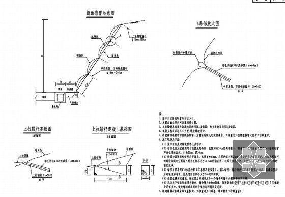 主动防护网设计图