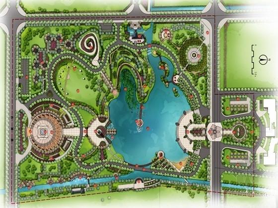 [云南]茶文化特色城市滨水生态公园景观规划设计方案