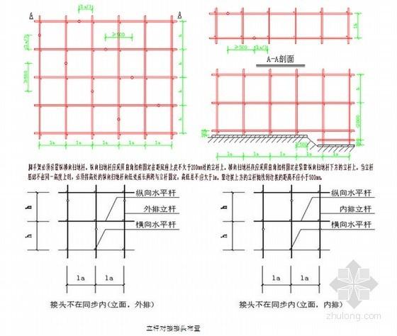 框架结构住宅楼工程脚手架专项施工方案(75页)