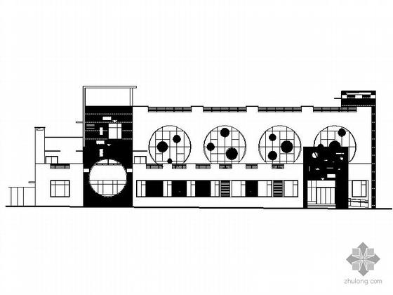 [湖南]某军区六班三层幼儿园建筑施工图