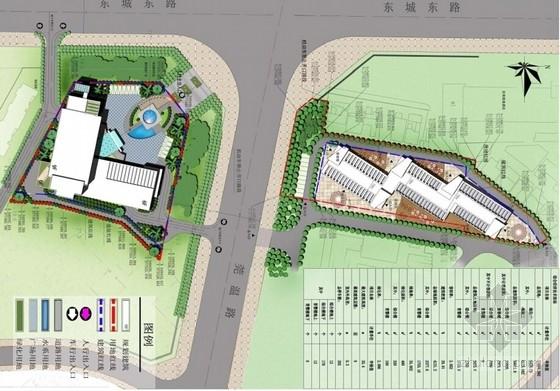 多层福利中心及育婴楼设计方案总平面图